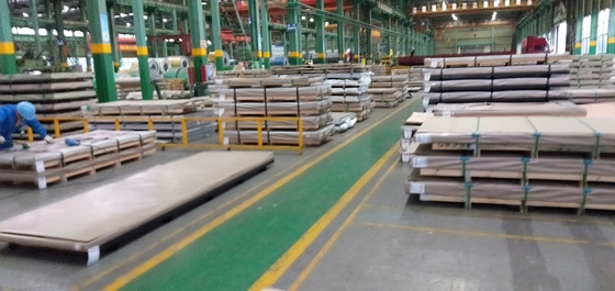 Porcellana 316Ti Stainless Steel Plate 316Ti (S31635, 1.4571) Hot Rolled Plate316Ti Austenitic Stainless Steel fornitore