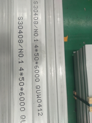 Sus 304 hair line Stainless Steel Flat Bar Inox 304 Flat Plate Lasering Cutting Flat Bar 304