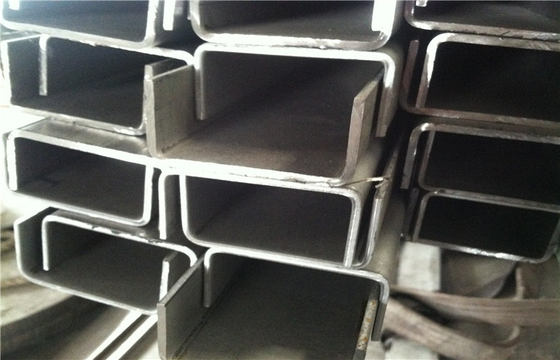 Mill 304 stainless steel U channel bar NO.1 finished AISI ASTM GB JIS